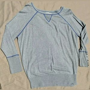 Ruby Moon Long Sleeve Pullover Top Shirt Sweater